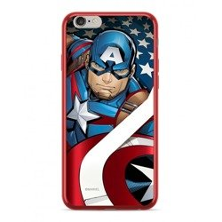 CASE CHROME MARVEL CAPTAIN AMERICA 004 IPHONE X / XS RED