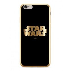 CASE CHROME STAR WARS STAR WARS 002 LOGO IPHONE XS MAX GOLD
