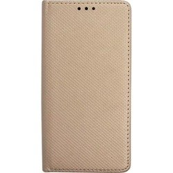 CASE MAGNET BOOK LG G8S THINQ GOLD
