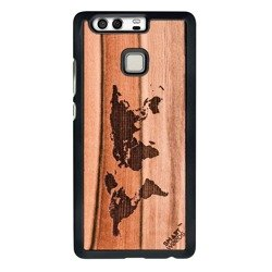 CASE WOODEN SMARTWOODS MAP HUAWEI P9