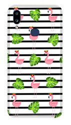 CaseGadget CASE OVERPRINT FLAMINGOS AND LEAVES SAMSUNG GALAXY A10S