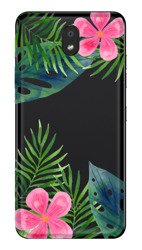 CaseGadget CASE OVERPRINT LEAVES AND FLOWERS LG K30 2019