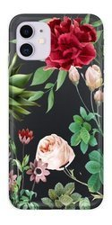 CaseGadget CASE OVERPRINT RED ROSE AND LEAVES IPHONE 11 PRO