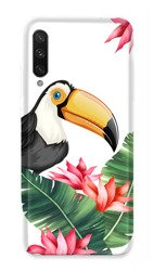 CaseGadget CASE OVERPRINT TOUCAN AND LEAVES XIAOMI MI A3 / CC9E