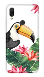 CaseGadget CASE OVERPRINT TOUCAN AND LEAVES XIAOMI REDMI Y3