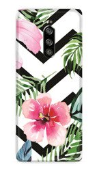 CaseGadget CASE OVERPRINT TROPICAL FLOWERS SONY XPERIA 1