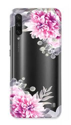 CaseGadget CASE OVERPRINT WHITE FLOWERS XIAOMI MI A3 / CC9E
