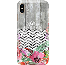FUNNY CASE OVERPRINT GRAY WOOD IPHONE 11 PRO MAX
