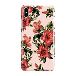 FUNNY CASE OVERPRINT RED FLOWERS XIAOMI REDMI 7