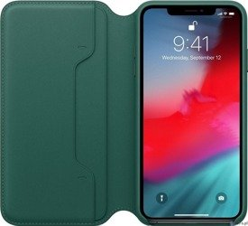 LEATHER FOLIO CASE MRX42ZM/A IPHONE XS MAX FOREST GREEN