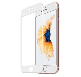 TEMPERED GLASS 5D IPHONE 6 PLUS / 6S PLUS WHITE