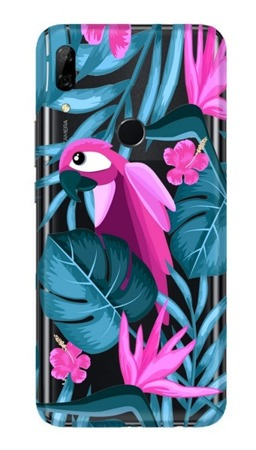 CaseGadget CASE OVERPRINT PARROT AND FLOWERS HUAWEI P SMART Z