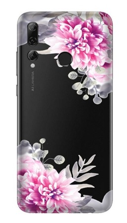 CaseGadget CASE OVERPRINT WHITE FLOWERS HUAWEI P SMART PLUS 2019