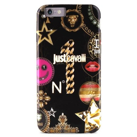 Just Cavalli LEO CASE STAR COVER IPHONE 6 / 6S BLACK