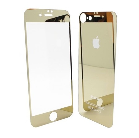 TEMPERED GLASS 9H IPHONE 6 / 6S FRONT + BACK GOLD