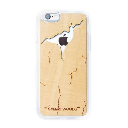 CASE ETUI DREWNIANE SMARTWOODS CRACKED MAPLE IPHONE 6 PLUS / 6S PLUS