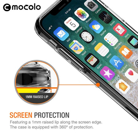 MOCOLO CASE SUPER CRYSTAL SAMSUNG GALAXY A6 2018 CLEAR