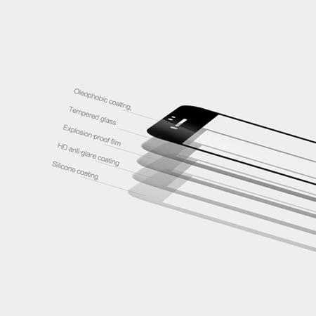 SZKŁO HARTOWANE MOCOLO TG+ 3D IPHONE XS MAX CZARNE